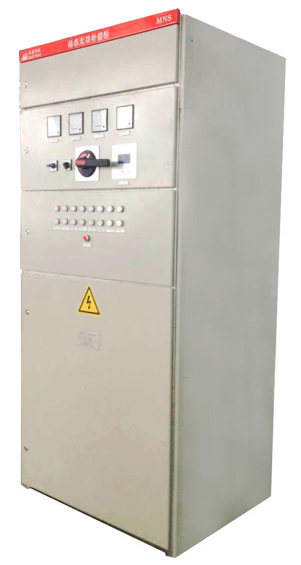 静止无功补偿器在低压供配电系统中广泛应用于电压调整,改善电压水平